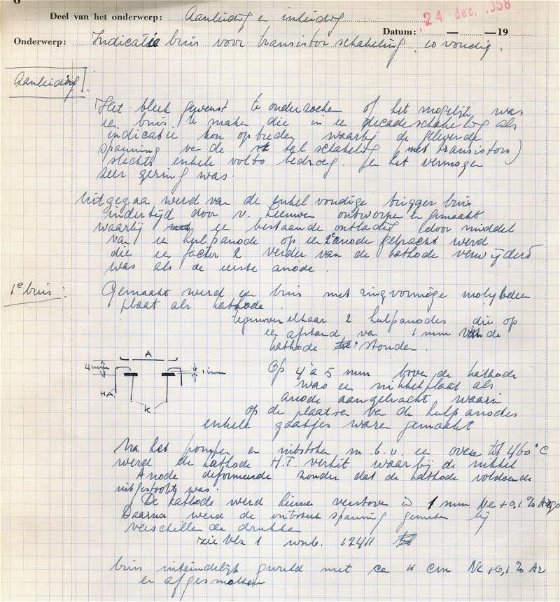 lab notebook example