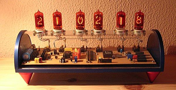 nixie i, nixie clock using six zm1030 tubesnixie clock using six zm1030 tubes ronald dekker