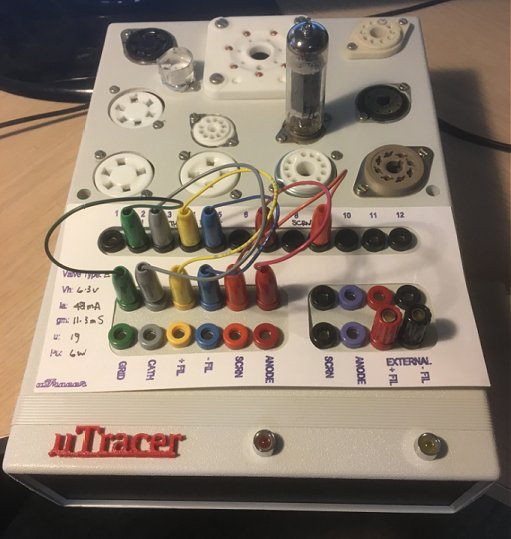 The uTracer, a miniature Tube Curve Tracer / Tester